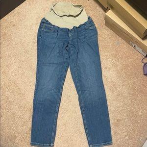 Maternity jeans size XL